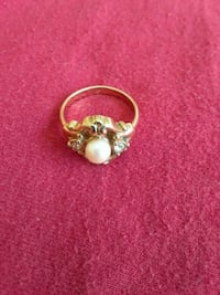 Opal and diamond accent ring Fort Pierce, 34982