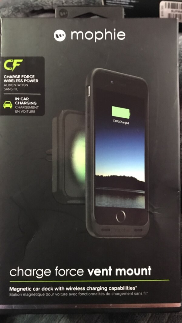 best loved c4e61 d08ca Used Mophie charge force vent mount (Magnetic car dock) for sale in ...