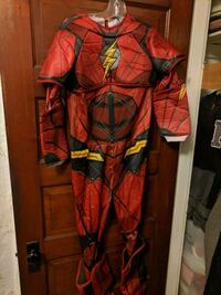 The Flash Justice League Halloween costume size large  Lincoln, 02865