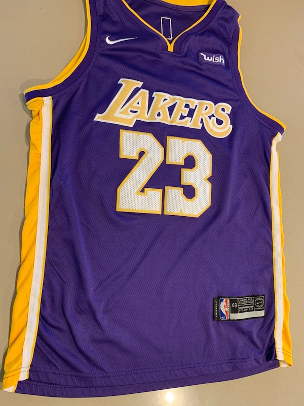 low priced d4ffc 9e0a6 Lebron James Los Angeles Lakers Jersey