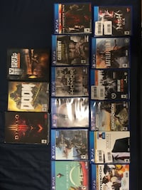 PS4 GAME LOT + 3 PC GAMES Jacksonville, 28539
