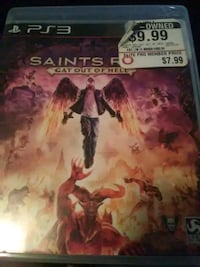 PS3 saints row gat out of hell Modesto, 95351