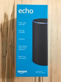 Amazon Echo 2nd Gen - Charcoal Fabric Anchorage, 99504