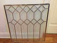 Architectural frosted glass window pane $55 Huntersville, 28078
