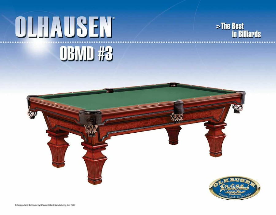 used genuine olhausen 8ft pool table savoy collection for sale in rh us letgo com
