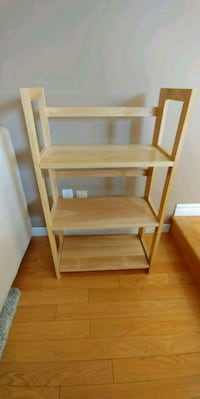 ** Reserved ** Freestanding bookcase.