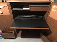 Cabinet with fold away desk Somerville, 02145