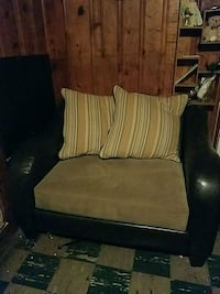 Couch & over sized chair