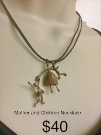 Mother and Children Necklace, Really Unusual and cool Chesapeake, 23320