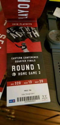 Eastern Conference Quarter Finals round 1 ticket Toronto, M9N 1J1