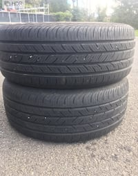 2 tires 215/55r16 continental $50 Sterling, 20166
