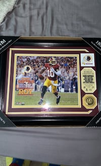 Robert Griffin gold coin frame Sterling