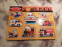 Melissa & Doug vehicles sound puzzle 3715 km