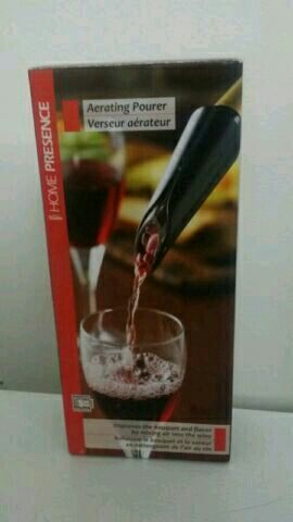 New in Box Wine Aerator Pourer