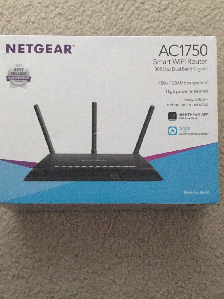 Photo WiFi Router Netgear AC1750 Like New