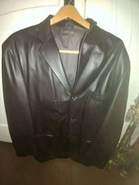 Mens large brown leather jacket Pompano Beach, 33060