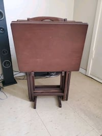 Used  folding table set Toronto