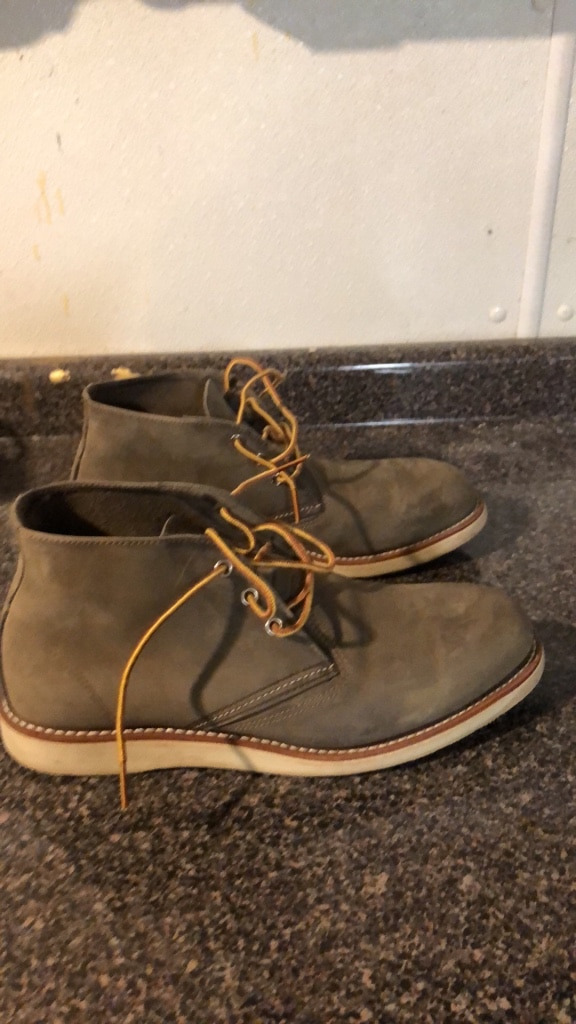Photo Mens Red Wing boots size 10