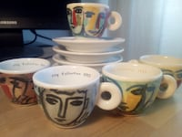 ILLY COLLECTION SERIE FACCE ITALIANE 1994 BY S. CHIA Milan