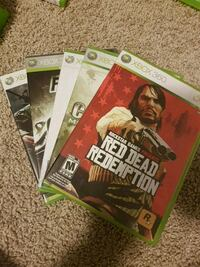 two Xbox 360 game cases Waterloo, N2J 3Z4