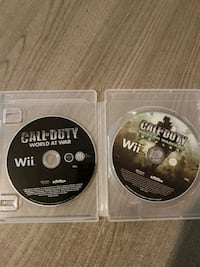 2 jeux wii Call of duty Sorigny, 37250