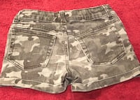 Girls Camo Shorts