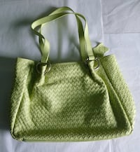 CNKW Green Leather Bag TORONTO