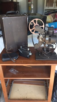 Bell and Howell antique projector
