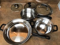 stainless steel cooking pot set Vancouver, V6R 1K1