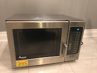 Amana Commercial Microwave Oven RCS10MPS 1000W New York, 11229