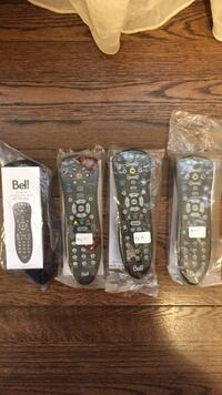 4 Bell remotes $10.00 Each Mont-Royal, H3R 1G3