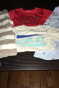 Lot of 4 Boys Shirts-Size 5