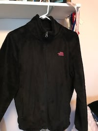 black The North Face zip-up jacket Wilkes-Barre, 18702
