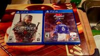 Two ps4 games , $20 each Fort Erie, L2A 1R2