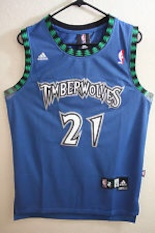 quality design a4395 c9db3 timberwolves 21 print purple basketball jersey