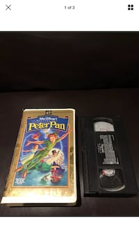 Peter Pan 45th Anniversary Edition Clamshell VHS Tape London, N6G 2Y8