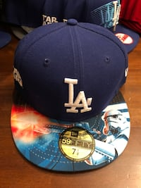 Brand New MLB LA Dodgers X Star Wars New Era 59FIFTY Fitted Size 7 1/8 Hat Cap Toronto, M3H 1B6
