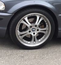 "18 "" Rims and tires Toronto, M6A 2J6"