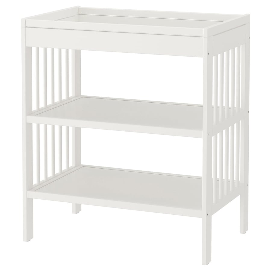 White Gulliver Changing Table (IKEA)