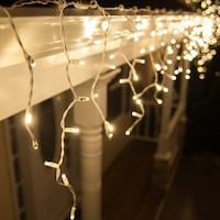 16 ft Icicle White Christmas Lights Alexandria, 22304