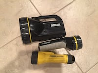 3 EverReady Flashlights.. All Sold Together Virginia Beach, 23456