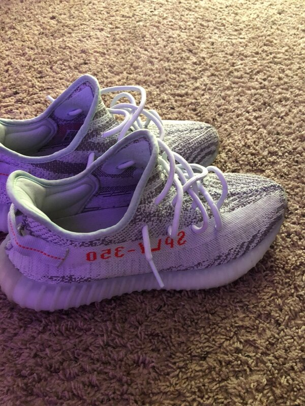 c01543262 Used adidas yeezy boost 350 v2 (Blue Tint) for sale in Brandon - letgo