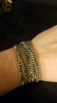 Grey bead wrap bracelet  Fairfax, 22031