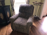 brown floral fabric sofa chair Brentwood, 37027