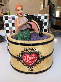 "Collectible I Love Lucy ""Grape Stomping"" Cookie Jar Huntington Beach, 92649"