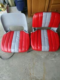 Two boat seats good shape. South Bend, 46628