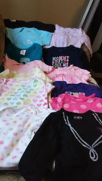 6 to 12 months various size baby girl clothes Rosamond, 93560