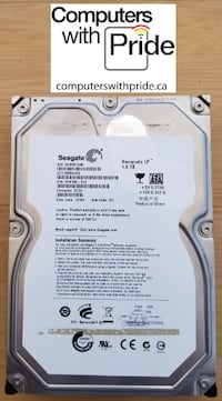 """Various 3.5"""" Desktop Hard Drive with 30 day warranty - See List Toronto"""