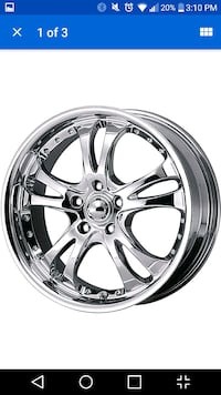 """114.5 x5 bolt 4 18"""" wheels exactly like this pic Surrey"""