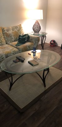 glass coffee table Tampa, 33609